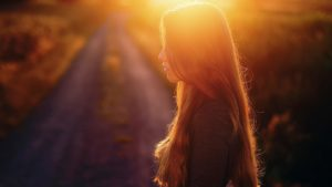 girl-beautiful-pictures-and-waist-long-hair-the-sun-the-road-beautiful-mood
